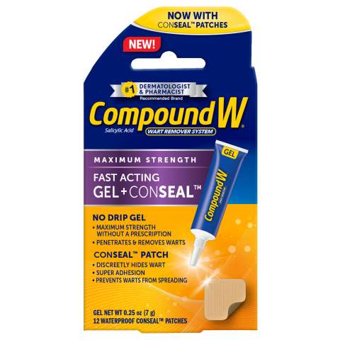 Compound W® Fast Acting Gel + ConSeal™ Patch